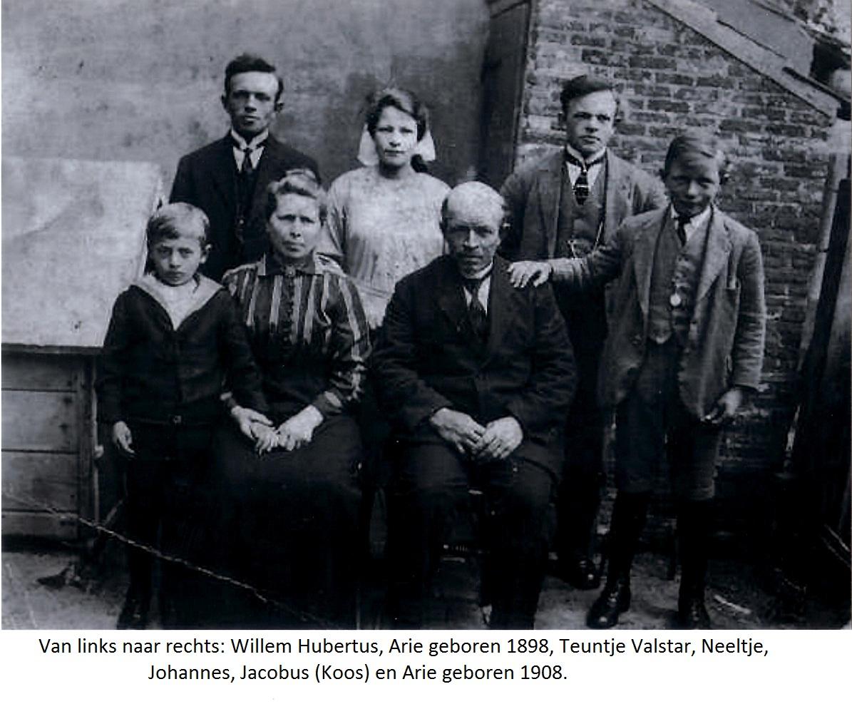 1873-12-11 Gezinsfoto Johannes met Teuntje Valstar