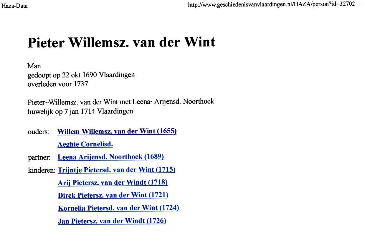 1690-10-22 Pieter Willemsz van der Wint
