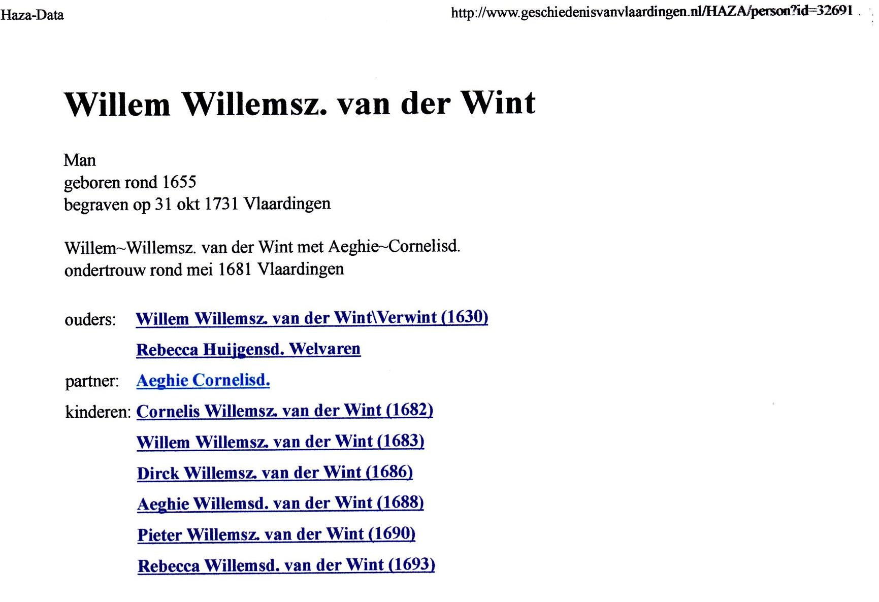1653 Willem Willemsz van der Wint