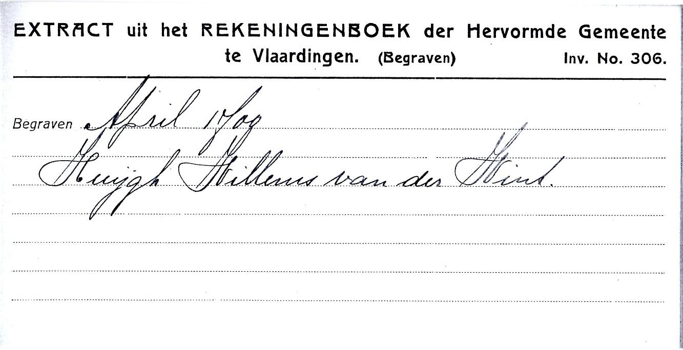 1700-04 Begraven Huijgh Willemsz van der Wint