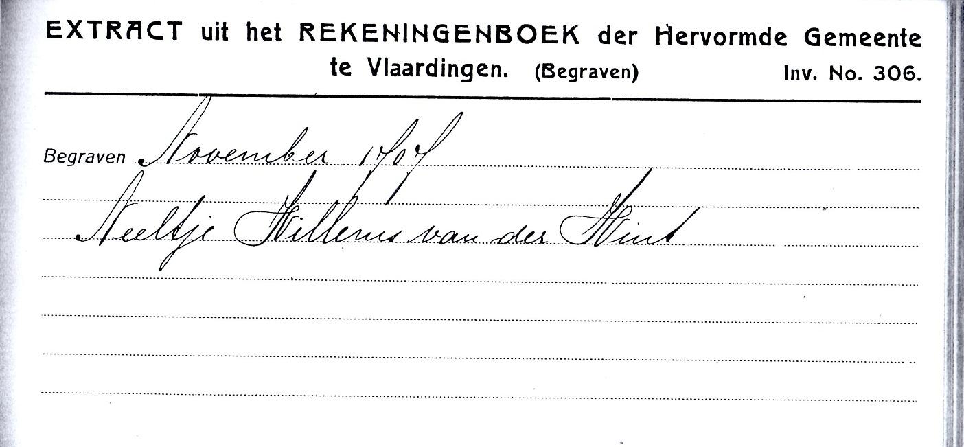 1707-11-XX Extract Begraven Neeltge Willemsd van der Wint