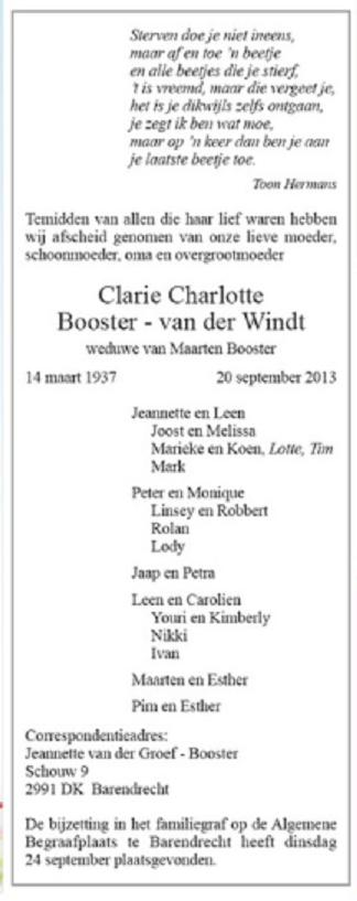 2013-09-20-overlijden-clara-clarie-charlotte-van-der-windt